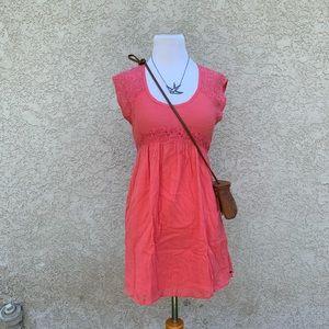O'Neil coral dress
